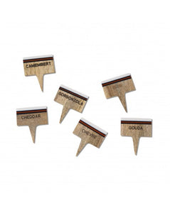 Montes Doggett Cheese Marker Set of 4