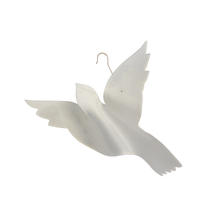 Fig and Dove Acrylic Dove Christmas Ornament