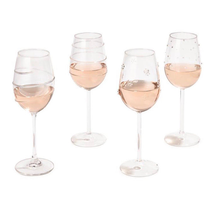 Two's Company Verre Wine Glasses