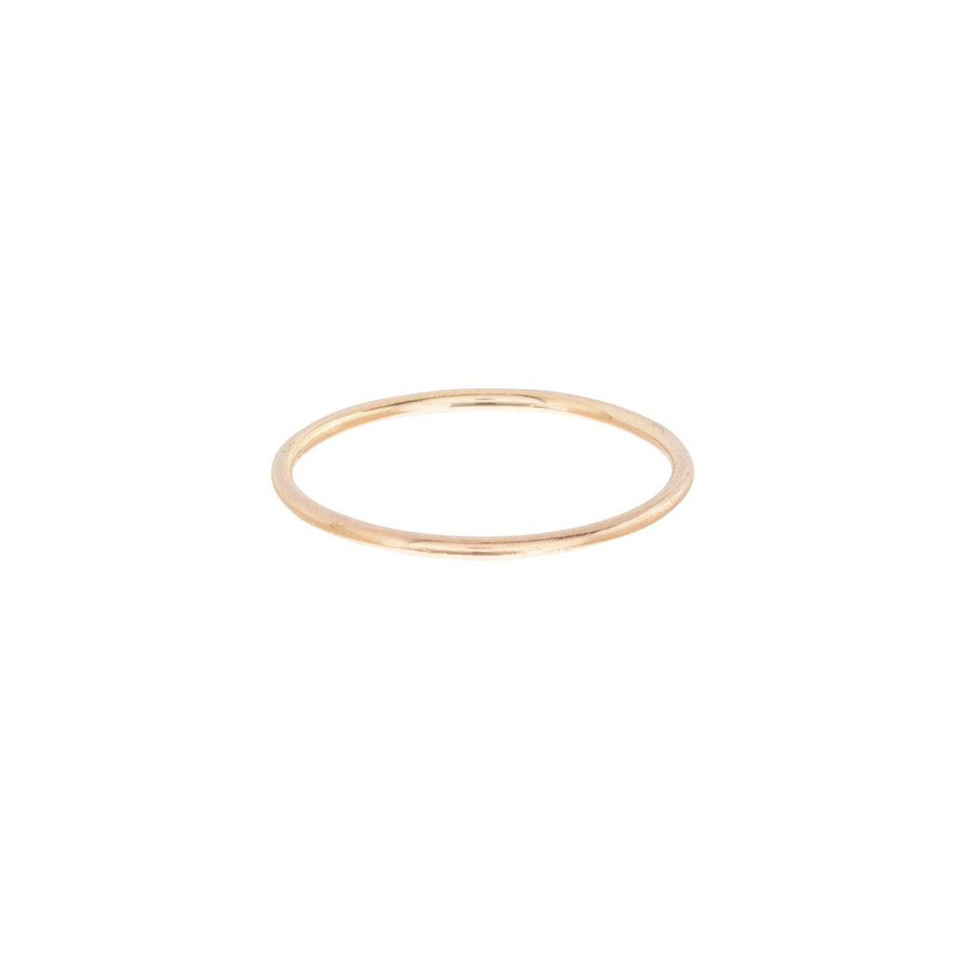 ClassicGold Thin Band Ring