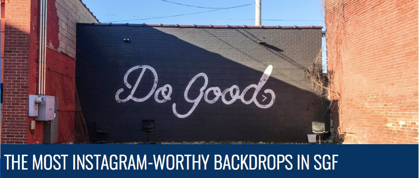 The Most Instagram-Worthy Backdrops in Springfield!