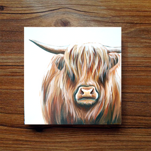 Load image into Gallery viewer, Mini Series - Highland Cow