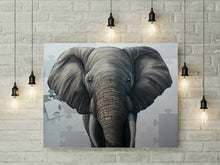"Load image into Gallery viewer, Elephant 46"" x 60"" - original"