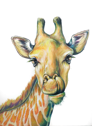 -Rainbow Series- Giraffe