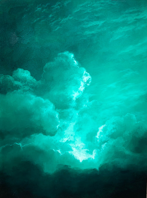 -Cloud Series - Phthalo Green