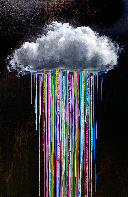 -Cloud Series - Glitter Rain