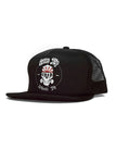 Skulls & Wheels Snapback Black