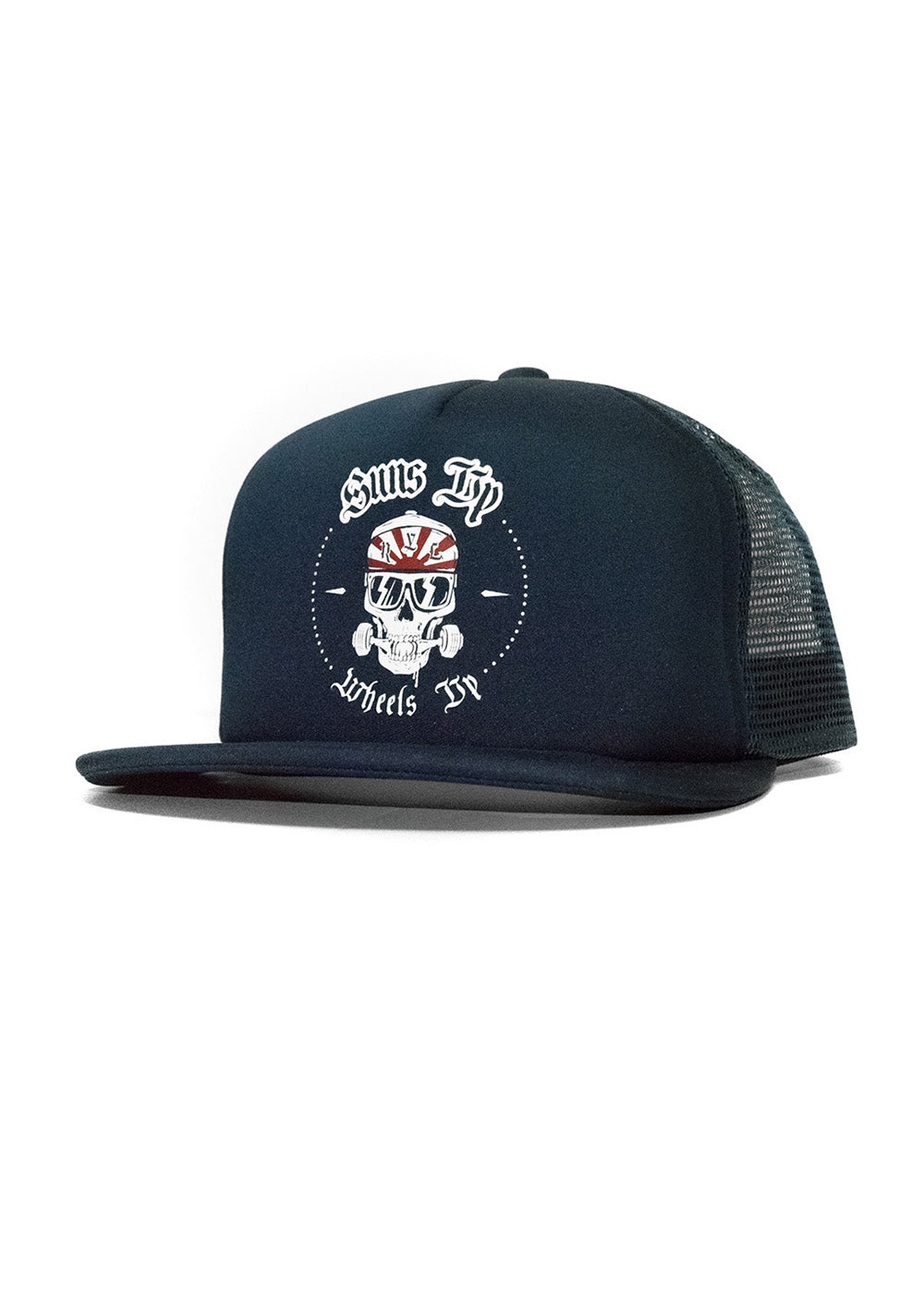 Skulls & Wheels Snapback BLUE