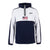 Penn Sport USA Polar Fleece 1/4 Zip Hoodie - Navy/White - pennlifestyle.com