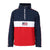 Penn Sport USA 'Davis' Iconic Flag Logo Windrunner Jacket | Navy/Red/White - pennlifestyle.com