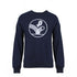 'Nixon' Ball Graphic Sweatshirt  - Navy