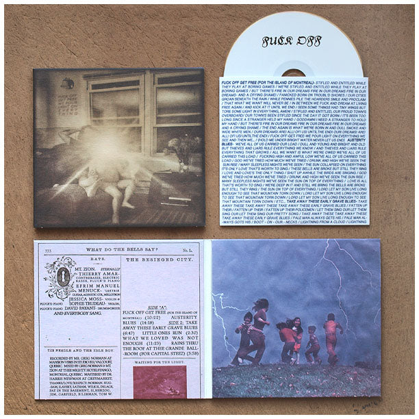 Load image into Gallery viewer, Thee Silver Mt. Zion Memorial Orchestra – Fuck Off Get Free We Pour Light On Everything