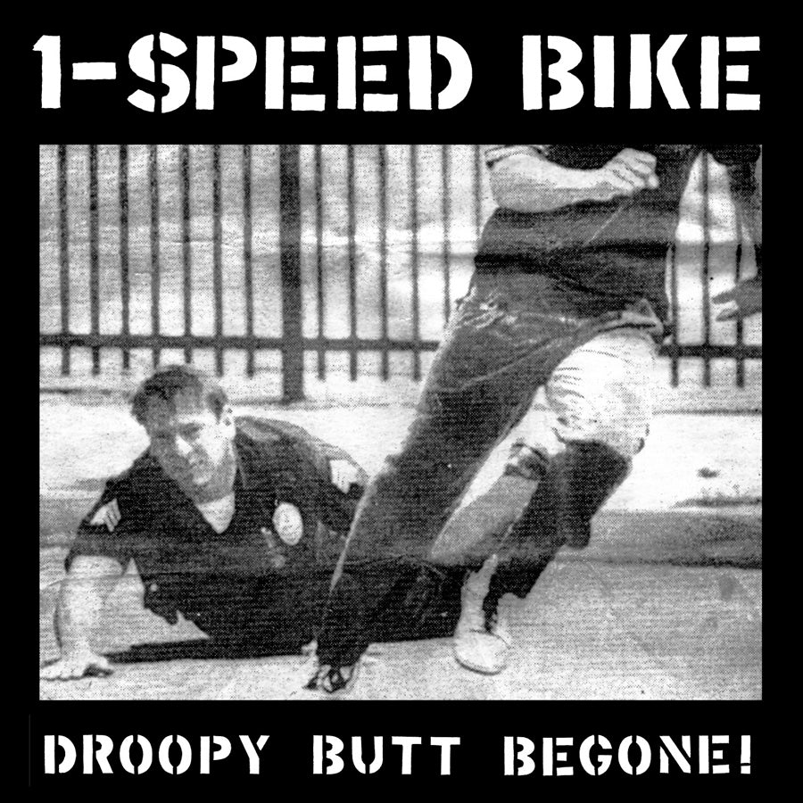 1-Speed Bike – Droopy Butt Begone!