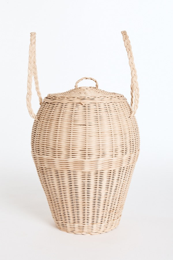 The Woven Urn Basket