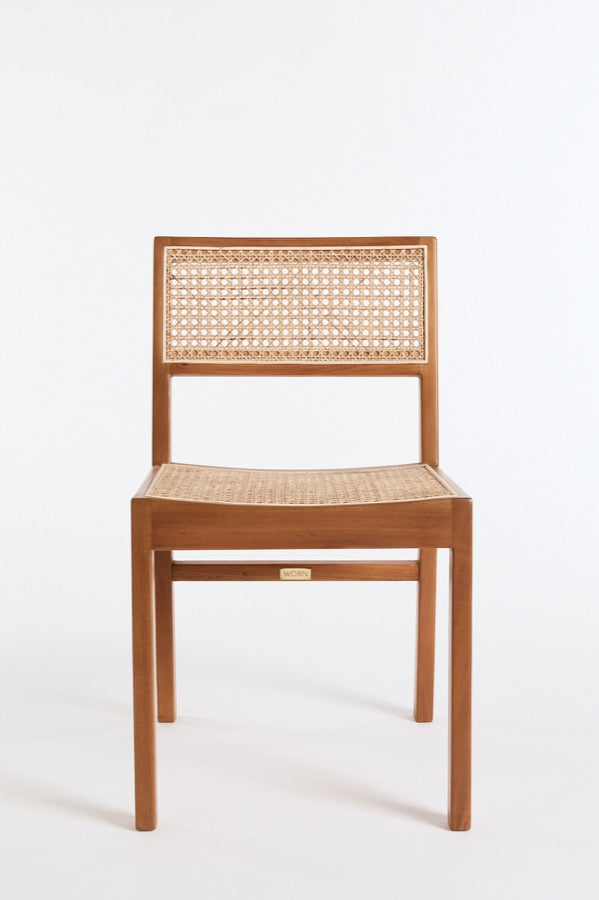 The Tissé Dining Chair in Natural