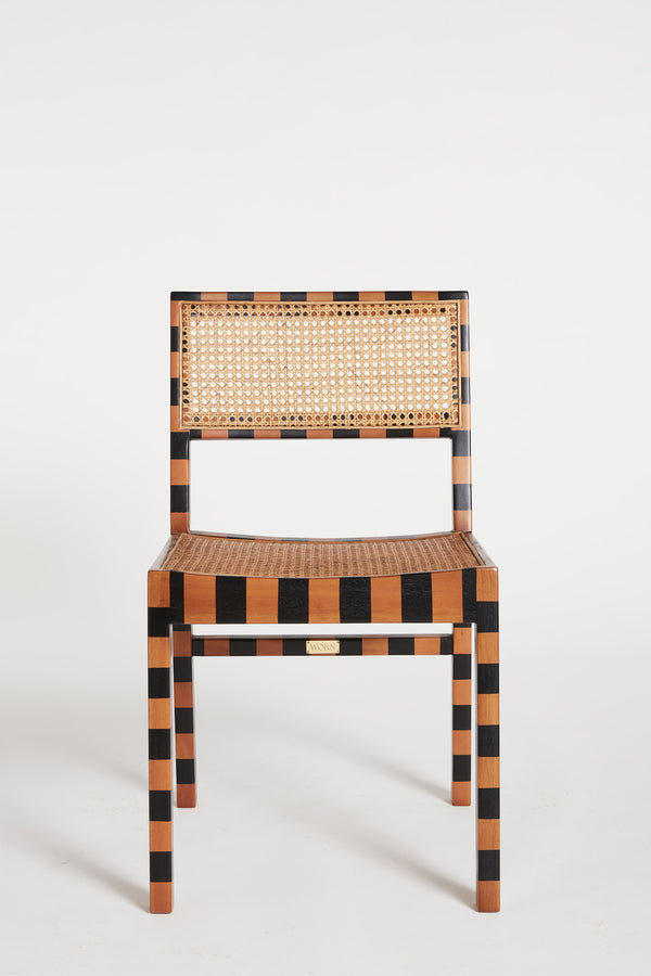 The Tissé Dining Chair in Stripe