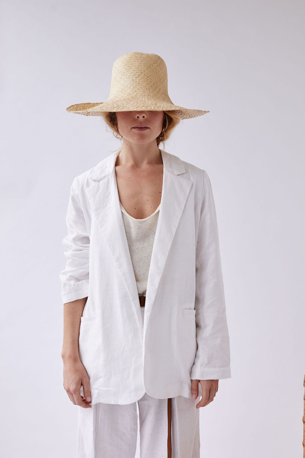 The Tailored Linen Blazer - seconds
