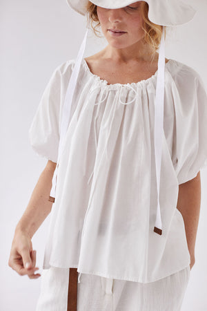 The Drawstring Blouse