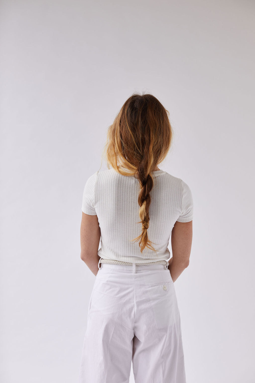 The Airy Ribbed Tee