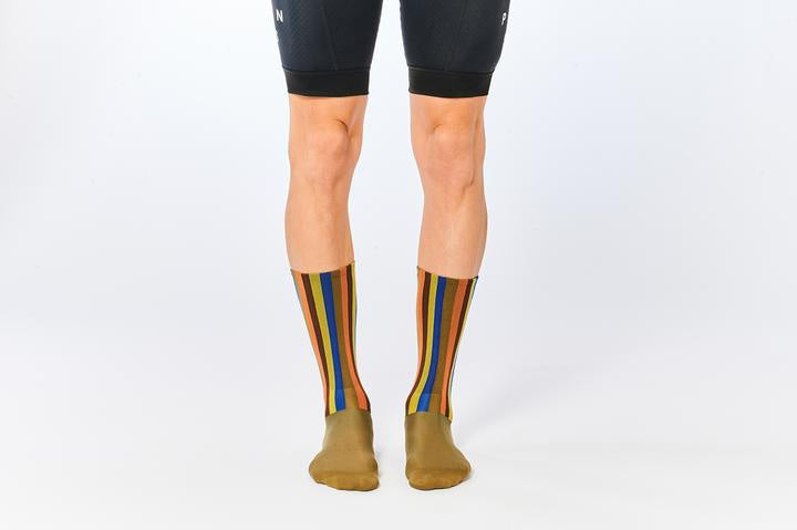 Fingers Crossed 'Classic 2.0 Vertical' Socks, 2020 - Cycle Closet