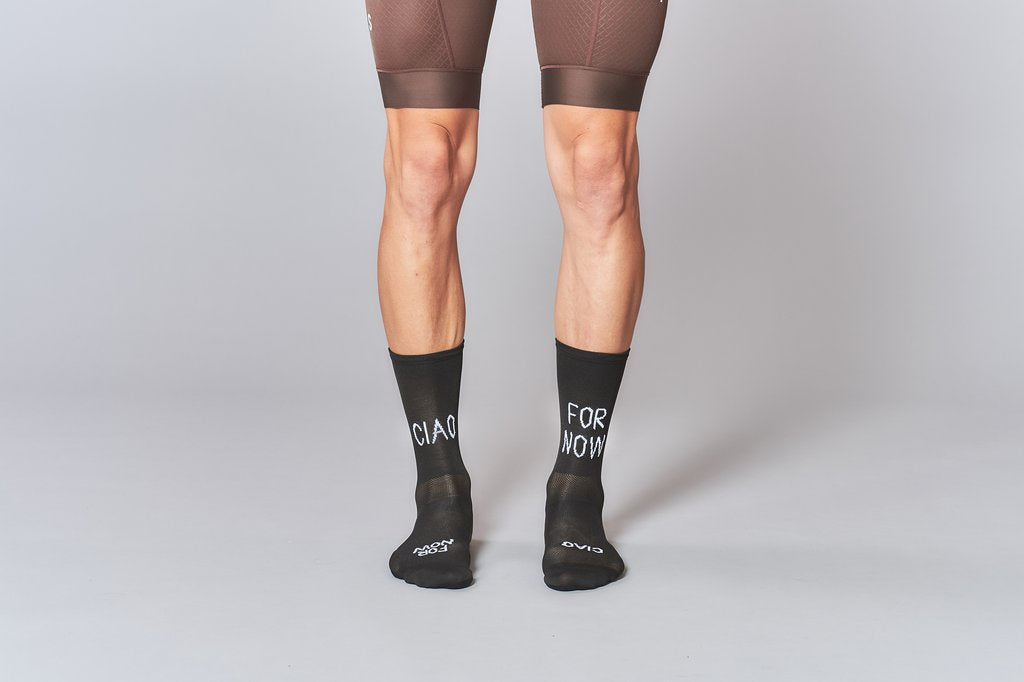 Fingers Crossed Ciao For Now Socks, AW19 - Cycle Closet