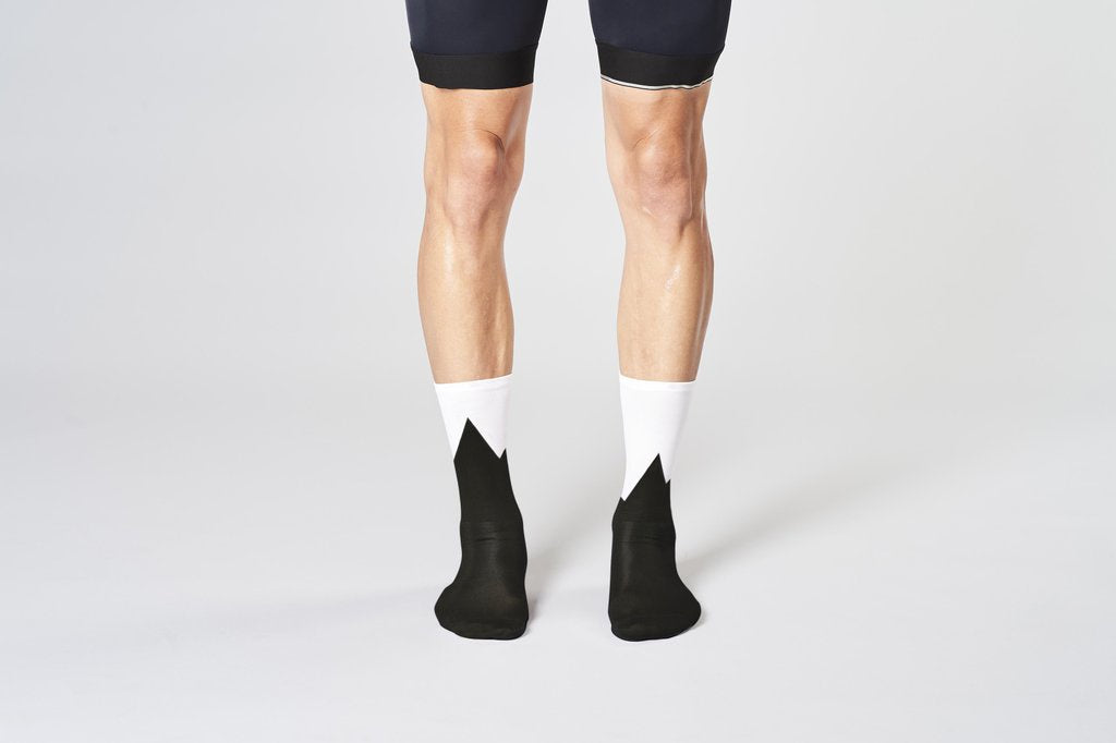 Fingers Crossed Mountain Socks, 2020 - Cycle Closet