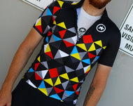 Assos Men's Club Gear_Kaleidoscope Jersey, 2019 - Cycle Closet