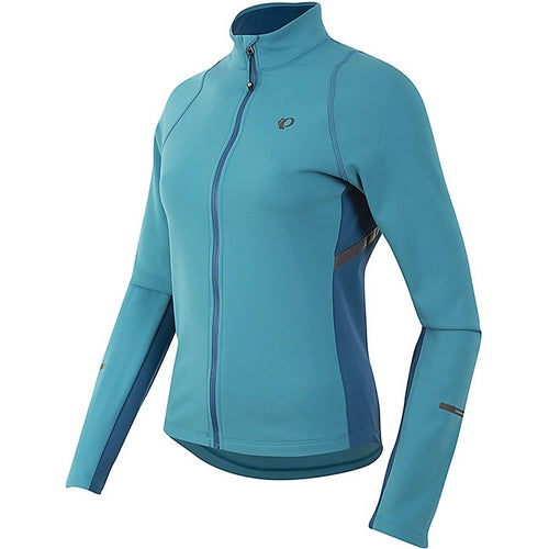 Pearl Izumi Women's Select Escape LS Thermal Jersey Pagoda Blue/ Moroccan - Cycle Closet