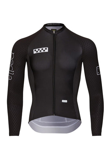 Pedla Men's BOLD LunaHex L/S Jersey, 2021 - Cycle Closet