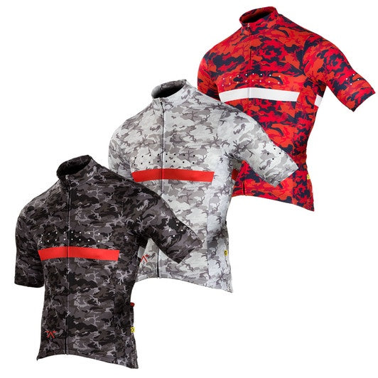 Pedla Men's Full Gas Aero RideCAMO Jersey - Cycle Closet