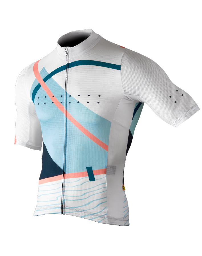 Pedla Men's Full Gas LunaAIR Linear Jersey - Cycle Closet
