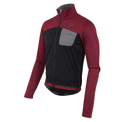 Pearl Izumi Select Escape Softshell Red/Black - Cycle Closet