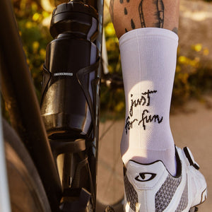 Fingers Crossed 'Just for Fun' Socks, 2020 - Cycle Closet