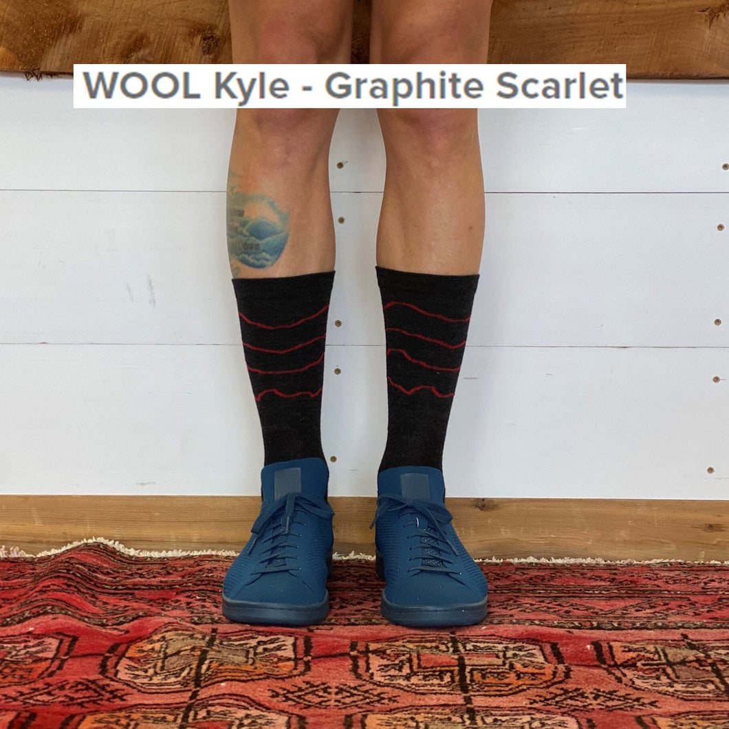 Ridge Supply Wool Kyle Socks, 2020 - Cycle Closet