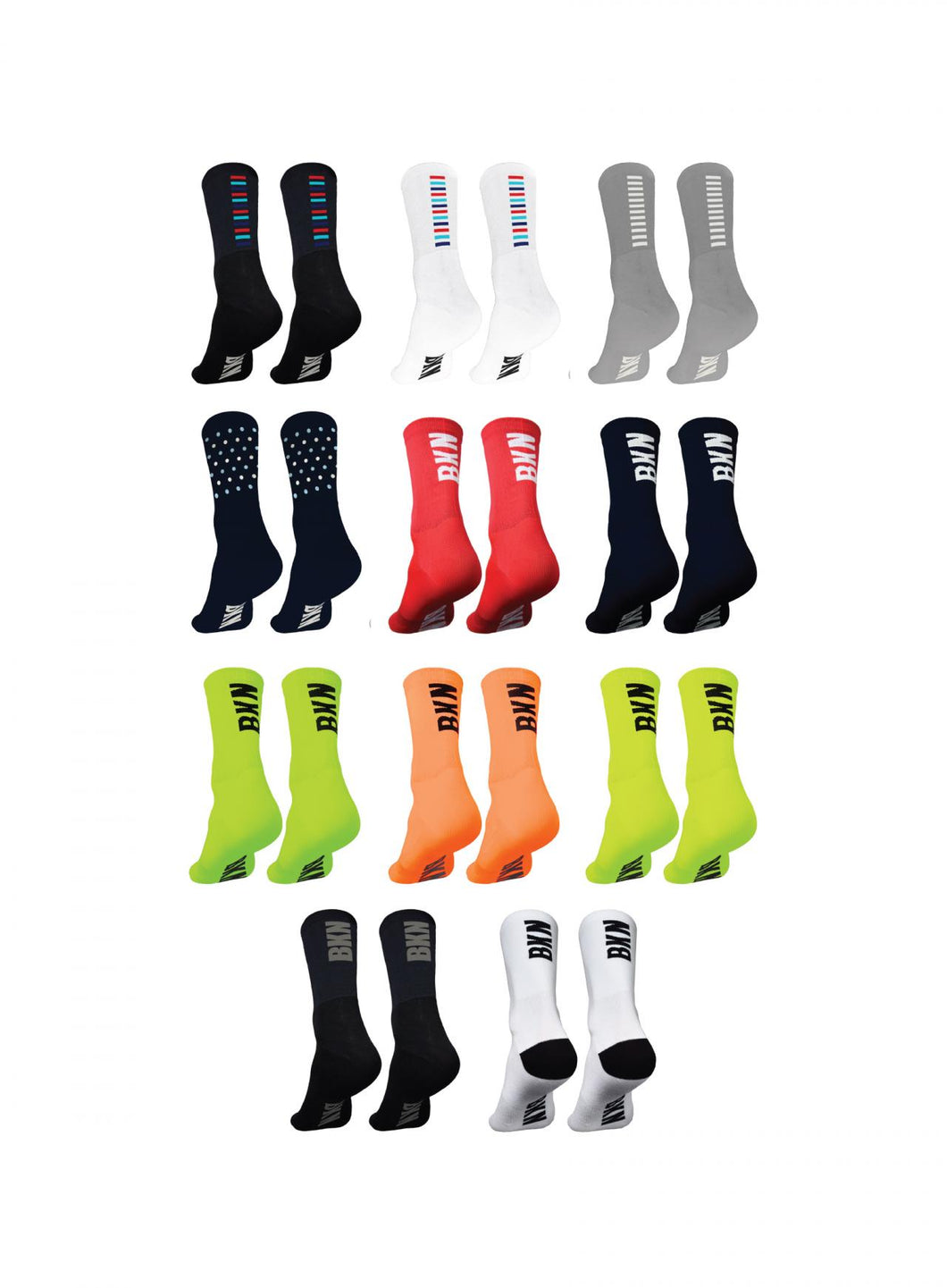 Brooklyn Project Pro Cycling Woven Socks, 2021 - Cycle Closet