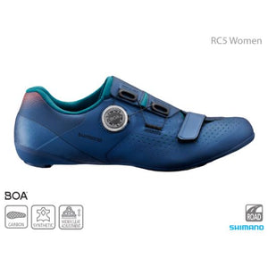 Shimano Women's SH-RC500 Road Shoes (RC5), 2020 - Cycle Closet