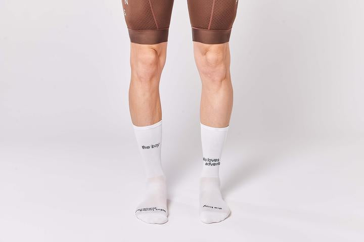 Fingers Crossed 'The Boy Who Loves Adventure' Socks, 2020 - Cycle Closet