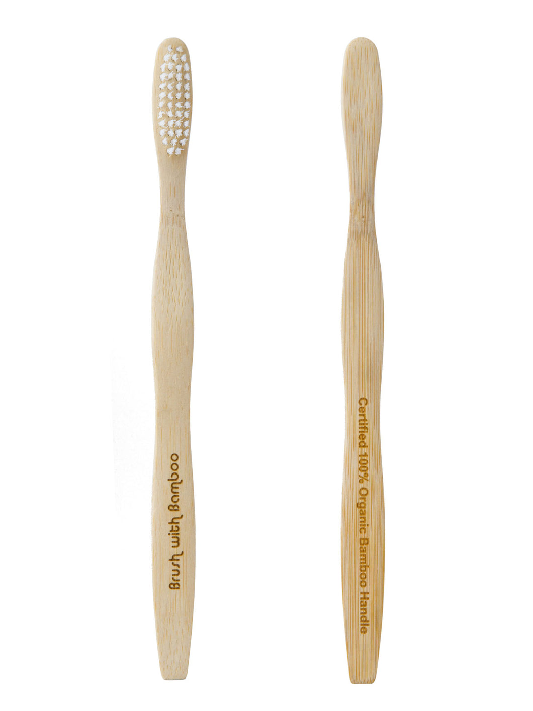 Adult Plant Based Bamboo Toothbrush | Well Earth Goods