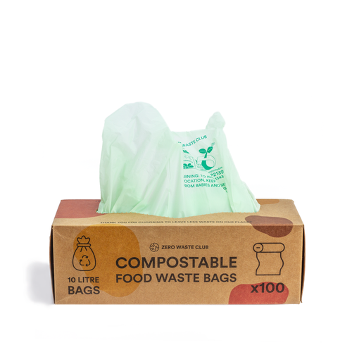 Home Compostable Small Kitchen Scrap & Home Trash Bags