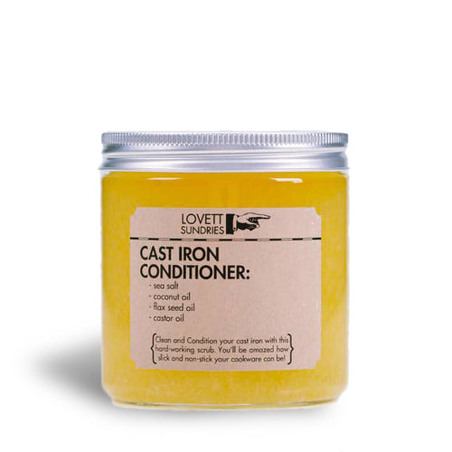 Cast Iron Conditioner | Well Earth Goods