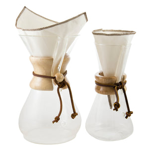 CoffeeSock (2pack) Chemex® Style Cotton Coffee Filter