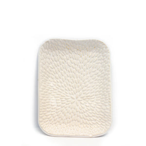 Ceramic White Soap Dish | Well Earth Goods