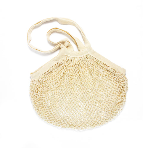 French Net Shoulder Bag - Dual Handled - Organic - Free Shipping