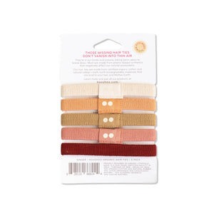 Biodegradable, Plastic Free Hair Ties, Ginger | Well Earth Goods