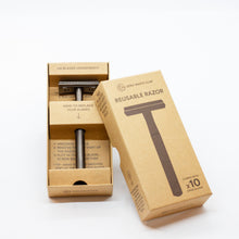 Load image into Gallery viewer, Zero Waste Safety Razor & Replacement Blades