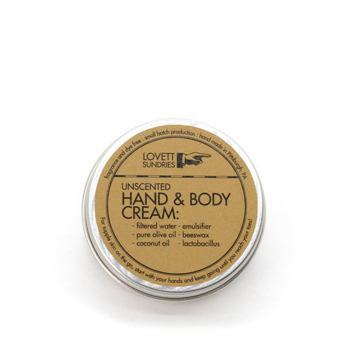 Hand and Body Cream, Plastic Free | Well Earth Goods