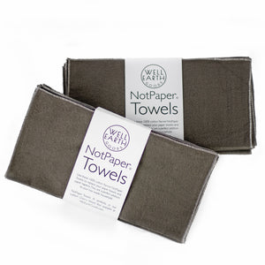Notpaper Towels - Flannel - 12 Pack | Well Earth Goods