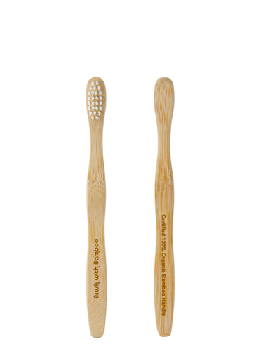 Child's Bamboo Toothbrush | Well Earth Goods