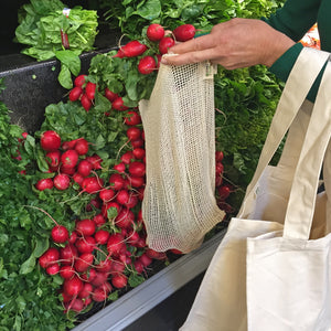 Mesh Organic Reusable Produce Bags | Well Earth Goods