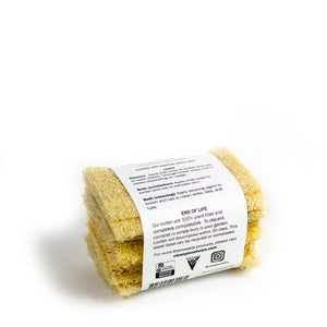 Mayan Natural Loofah Sponge Scrubbers | Well Earth Goods